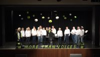 Projektchor und AggerChor sangen bei More Than Voices